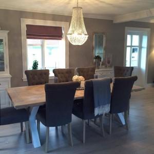 G-Spisebord med innramming Bjørkelund gård 1