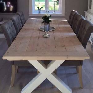 G-Spisebord med innramming Bjørkelund gård 2