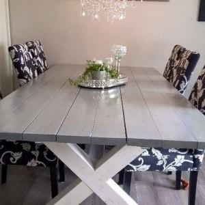 G-Spisebord uten innramming gråmalt